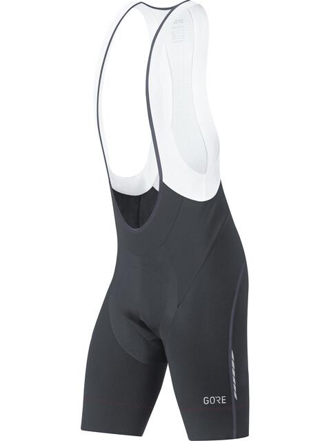 GORE WEAR C7 Partial+ Bib Shorts Heren zwart